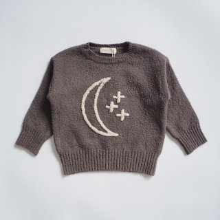 <img class='new_mark_img1' src='https://img.shop-pro.jp/img/new/icons14.gif' style='border:none;display:inline;margin:0px;padding:0px;width:auto;' />Rylee + Cru<br>cassidy sweater<br>moon&stars charcoal<br>(12-18m,18-24m,2-3y,4-5y,6-7y)