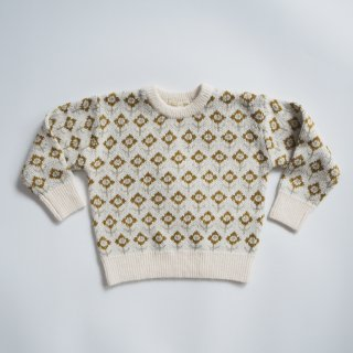 <img class='new_mark_img1' src='https://img.shop-pro.jp/img/new/icons14.gif' style='border:none;display:inline;margin:0px;padding:0px;width:auto;' />Rylee + Cru<br>knit pullover<br>vintage floral ivory<br>(12-18m,18-24m,2-3y,4-5y,6-7y,8-9y)