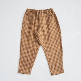 <img class='new_mark_img1' src='https://img.shop-pro.jp/img/new/icons14.gif' style='border:none;display:inline;margin:0px;padding:0px;width:auto;' />Nellie Quats<br>jumping jack trousers<br>rose&caramel check<br>(18-24m,3-4y,5-6y,7-8y)