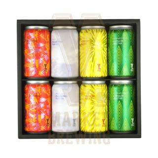 Y.MARKET定番ビール詰め合わせギフトセット 4種各2缶 8缶