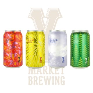 Y.MARKET定番ビール詰め合わせギフトセット 4缶