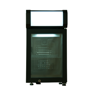 25リットルLEDディスプレイ冷蔵庫  ATENARU コンプレッサー式 AB-ATD25