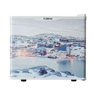 石川直樹 写真家 「Ilullisat city, Greenland / 2007」 17リットル小型冷蔵庫