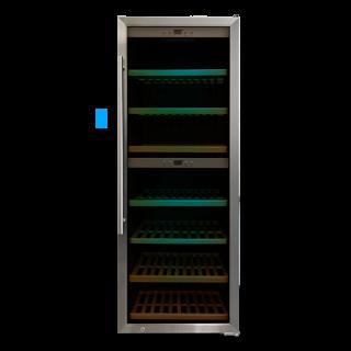 【予約 6月下旬入荷予定】ワインセラー 2層式120-140本 CachetteSecrete S-Class