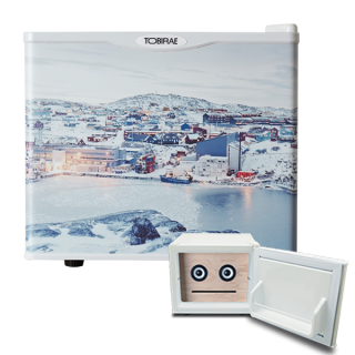 石川直樹 写真家 「Ilullisat city, Greenland / 2007」 REIZOKO SPEAKER