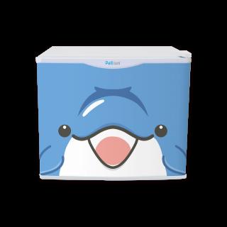 フリフリッジZOO イルカ 17リットル型小型冷蔵庫