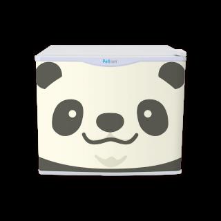 フリフリッジZOO パンダ 17リットル型小型冷蔵庫