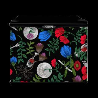 くらちなつき ファッションイラストレーター 「Dinner time」 17リットル小型冷蔵庫