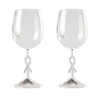 ギフトワイングラス Ribbon stem 2脚セット