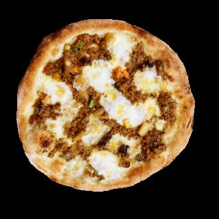 冷凍ピザ ピザ山 「スパイスカレー山」 (野菜キーマカレーのピザ)