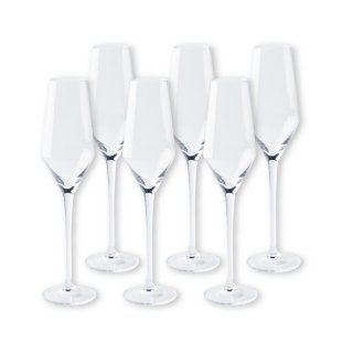 ワイングラスセット ヴェガ  フルートシャンパーニュ 6脚