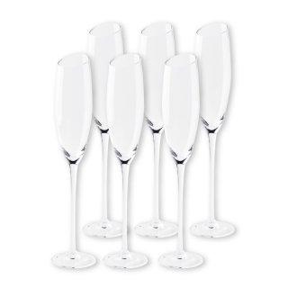ワイングラスセット ミラ  フルートシャンパーニュ 6脚
