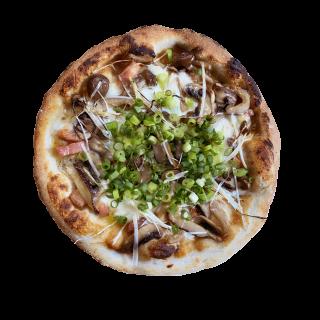 冷凍ピザ 「ねぎ味噌山」 (無添加有機米みそとネギの和風ピザ)