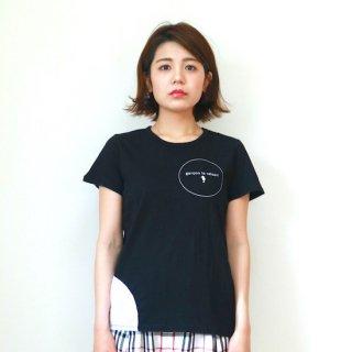 ロゴサークルTシャツ(レディース) 02213