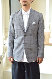 【セール50%オフ】SIDE SEAMLESS NOTCHED LAPEL 2B JACKET/191502*JK#GH*