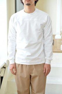 【セール40%オフ】ハイゲージストレッチ裏毛パネルスウェットシャツ/1119-21106*CS#GH*