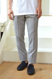 【セール50%オフ】OUT 2TUCK TAPERED DRESS PANTS/C191200*PT#GH*