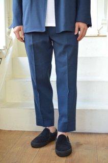【セール40%オフ】Single Forward Pleated Tapered Trousers/WM20SPT01*PT#GH*