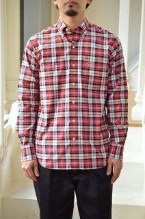 【セール40%オフ】Plaid Cotton Oxford B.D Collar Shirt/5120-31506*SL#GH*