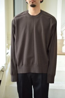 COMBINED NECK KNIT LS/ST160*KN#GH*