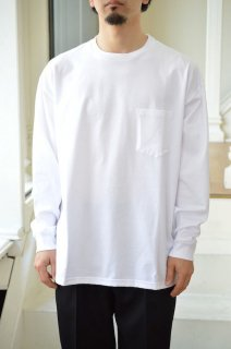 Jersey Oversized L/S Pocket Tee/GM201-70142B*CL#GH