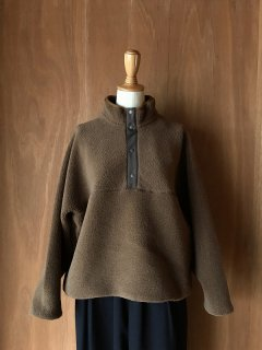 Wool Boa Hight Neck Pull Over/GU203-70165*CL#IT