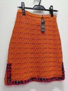 ANNA SUI U,S,A オレンジニットスカート/0097725-54-25-0*SK#US*