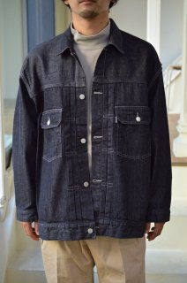Colorfast Denim Blouson /GM203-30095B*BR#GH