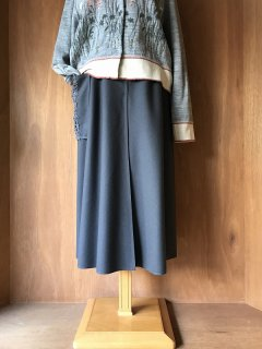 【セール30%off】Melton Wool Skirt/WS130*PT#IT