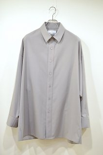 Fine Wool Tropical Yoke Sleeve L/S Shirt GM211-50123*SL#GH