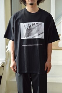 "POET MEETS DUBWISE for Graphpaper Oversized Tee ""WORDS AND SILENCE"" / GU211-70180*CS#GH"