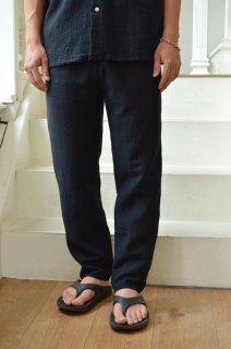 SASHIKO STRETCH SLIM PANTS / PC-055-1533*PT#GH