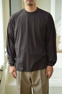 WASHABLE LIGHT WOOL JERSEY L/S TEE / A21AP02UT*CL#GH