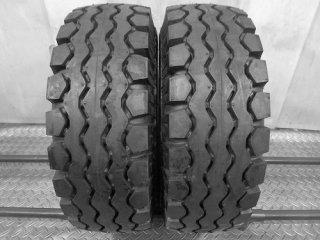 ★リフトタイヤ 超バリ山 18年製★<BR>ダンロップ<BR>ELECSAVER<BR>21×8-9 16PR<BR>2本セット[P500]