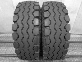 ★リフトタイヤ 超バリ山 17年製★<BR>ダンロップ<BR>ELECSAVER<BR>21×8-9 16PR<BR>2本セット[P501]