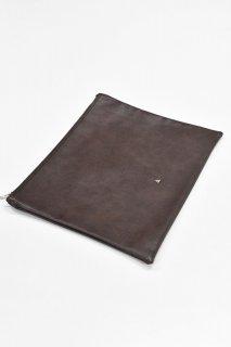 COET / INNER CLUTCH BAG - BROWN