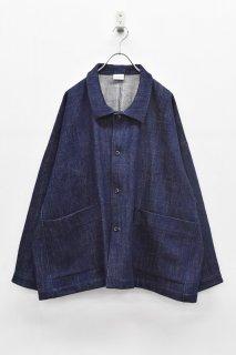 Hiroyuki Watanabe - デニムオーバージャケット / indigo blue