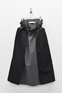 sneeuw / レイヤースカート BLACK