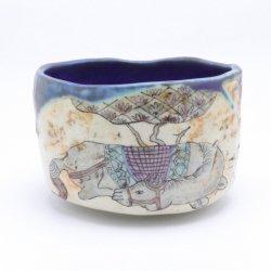 休む馬 茶碗|工藤武