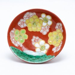 花木米 平盃 (黄)|中川眞理子