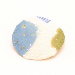 ブローチ J|樫尾 聡美