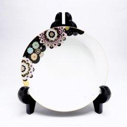 星月夜の華 6寸皿(桃色)|西野美香