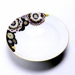 星月夜の華 5寸皿(桃色)|西野美香