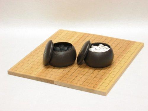 折碁盤・プラスチック碁石セット
