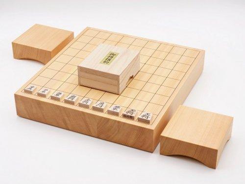 卓上将棋20号・駒 楓 上彫・駒台セット  (送料無料)