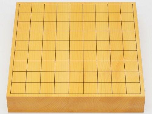 卓上将棋盤 本榧 柾目 20号 接合盤  No.1  (送料無料)