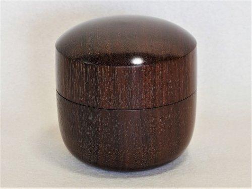 駒入れ ローズ紫檀 棗(なつめ)型