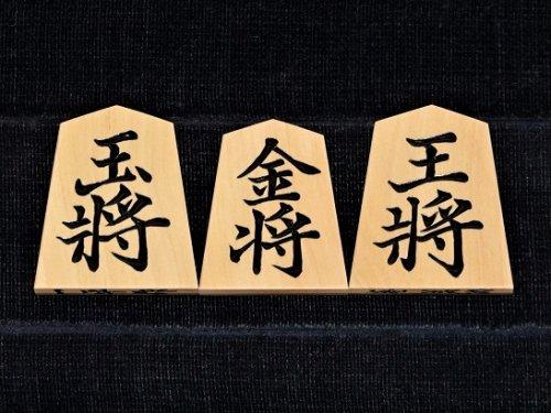 将棋駒 一平作 シャム黄楊 彫駒 巻菱湖