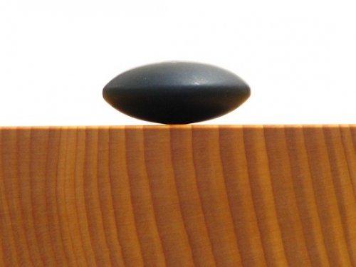 アウトレット  補充用那智黒碁石     三重県熊野産の那智黒石 33号 1粒