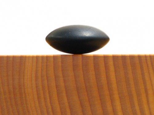 アウトレット  補充用那智黒碁石     三重県熊野産の那智黒石 36号 1粒